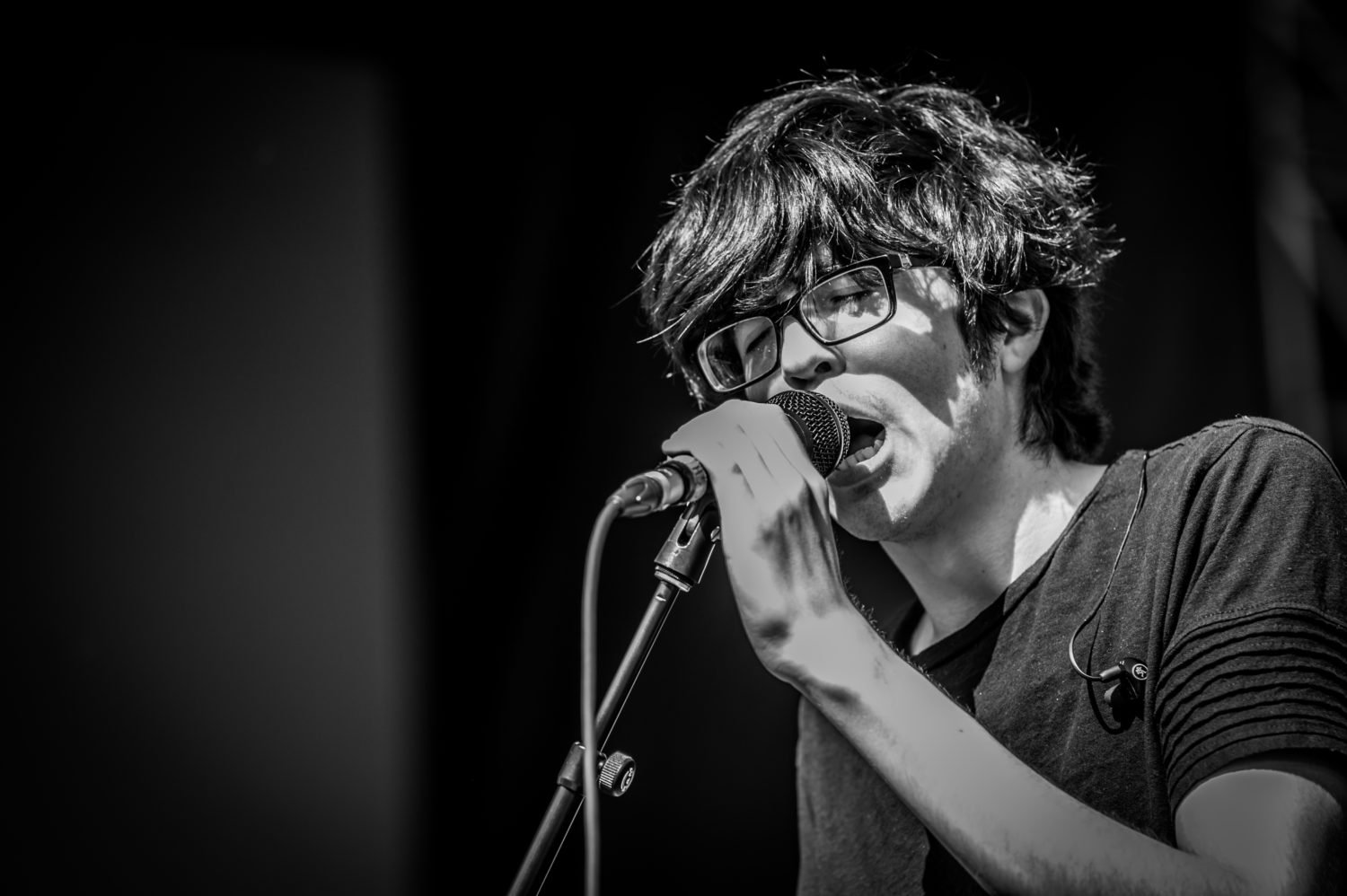 Car Seat Headrest performing at 80/35 Music Festival 2018 in Des Moines, Iowa