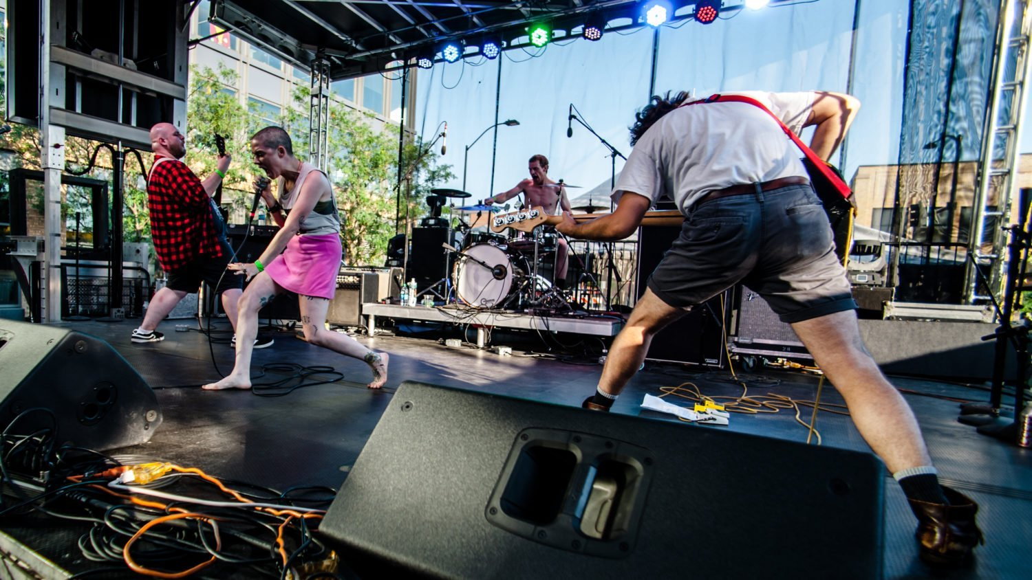Closet Witch performing at 80/35 Music Festival 2018 in Des Moines, Iowa