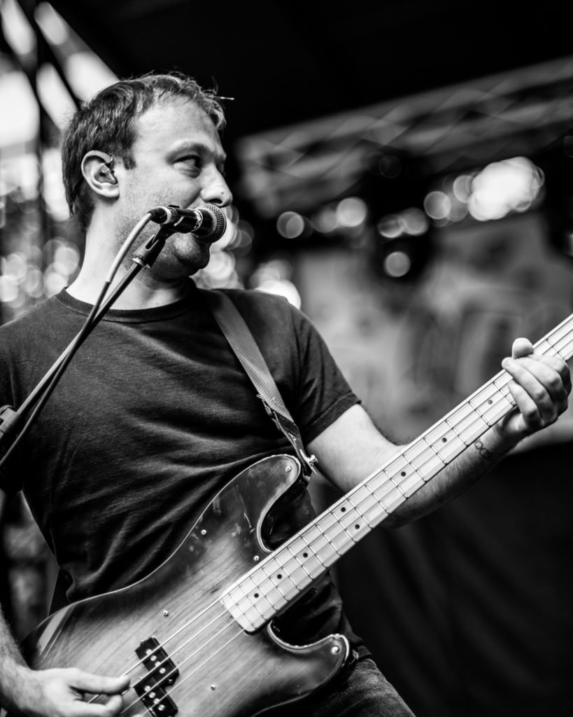 Jeff Rosenstock performing at 80/35 Music Festival 2018 in Des Moines, Iowa