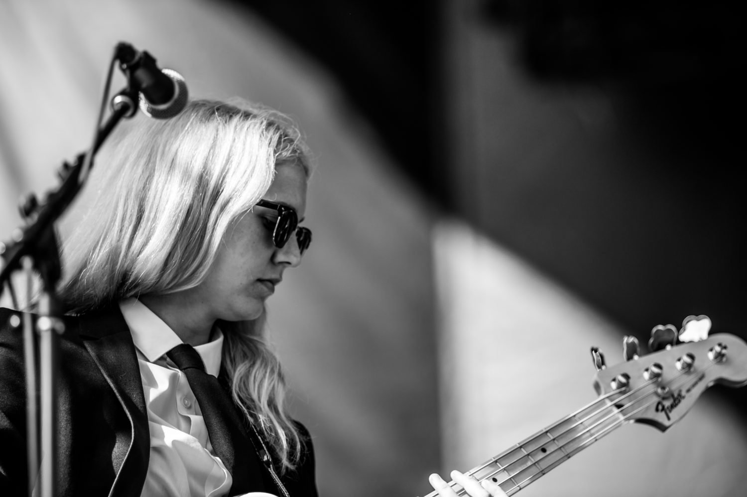 Phoebe Bridgers performing at 80/35 Music Festival 2018 in Des Moines, Iowa