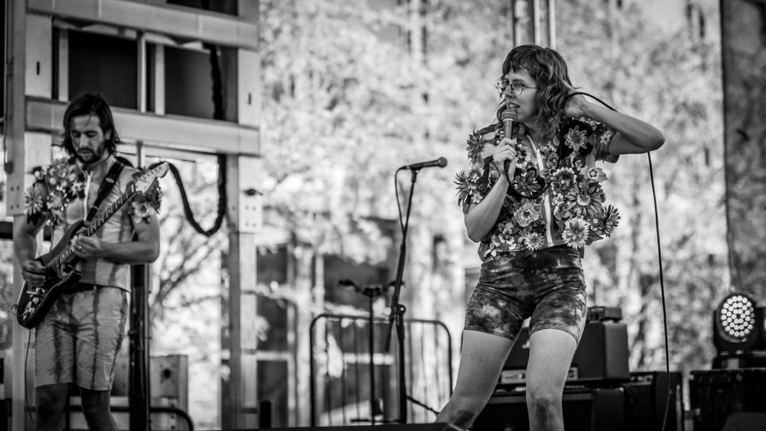 Ramona and the Sometimes performing at 80/35 Music Festival 2018 in Des Moines, Iowa