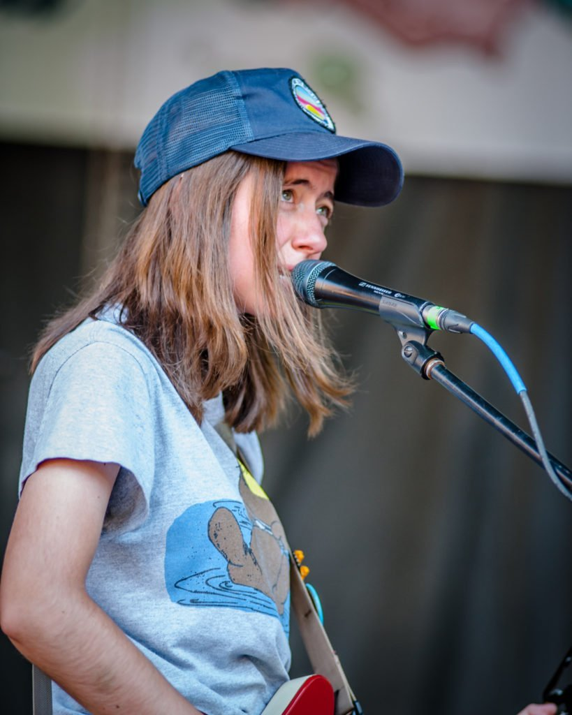 Ratboys performing at 80/35 Music Festival 2018 in Des Moines, Iowa