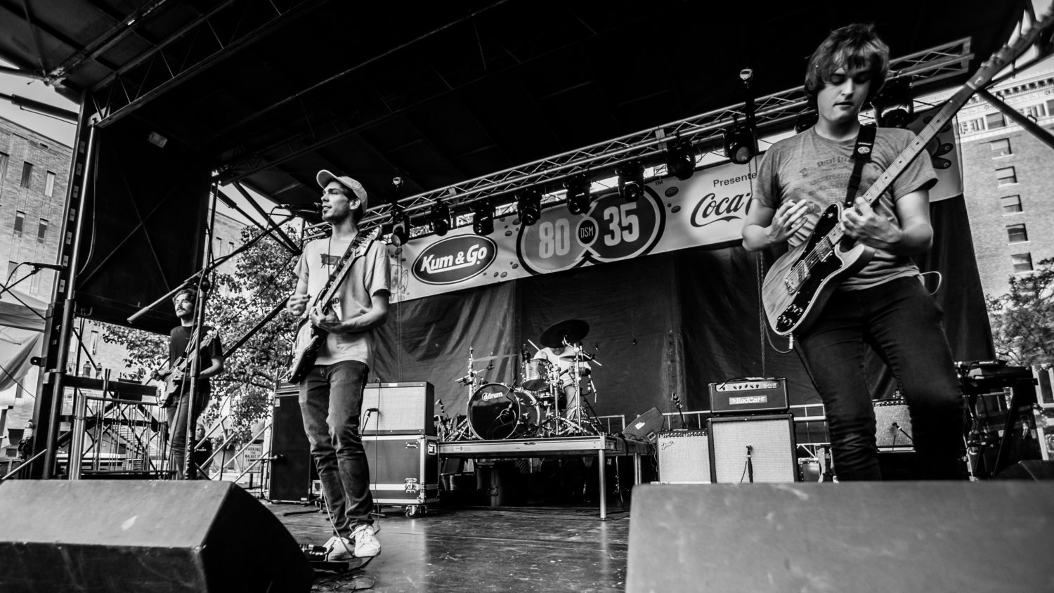 Remo Drive performing at 80/35 Music Festival 2018 in Des Moines, Iowa