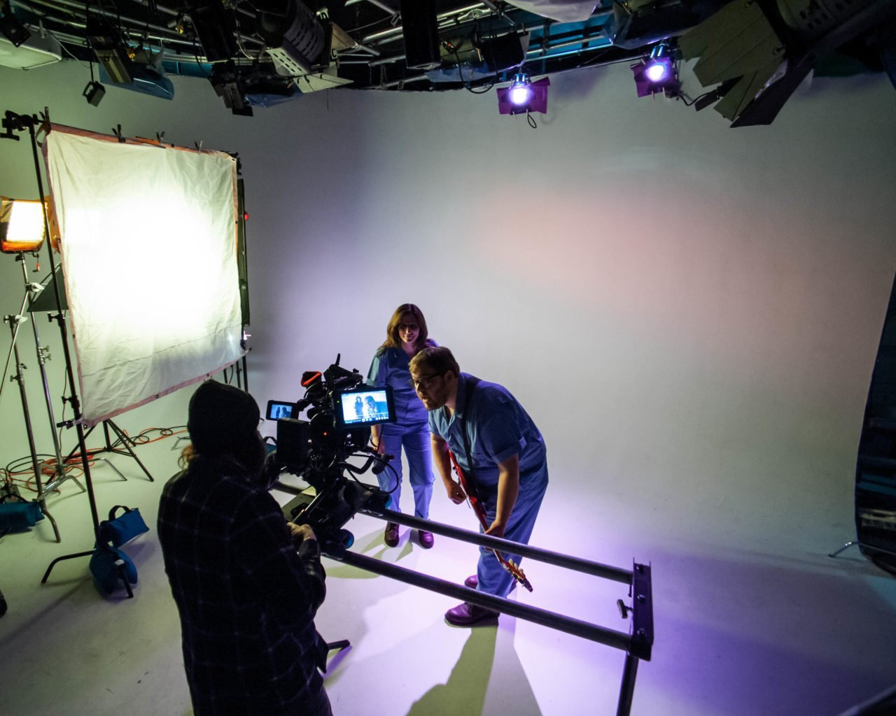 Crystal City music video shoot in Des Moines, Iowa