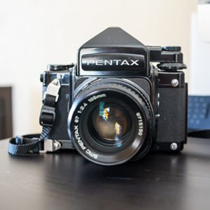The Pentax 6x7 I used in this review