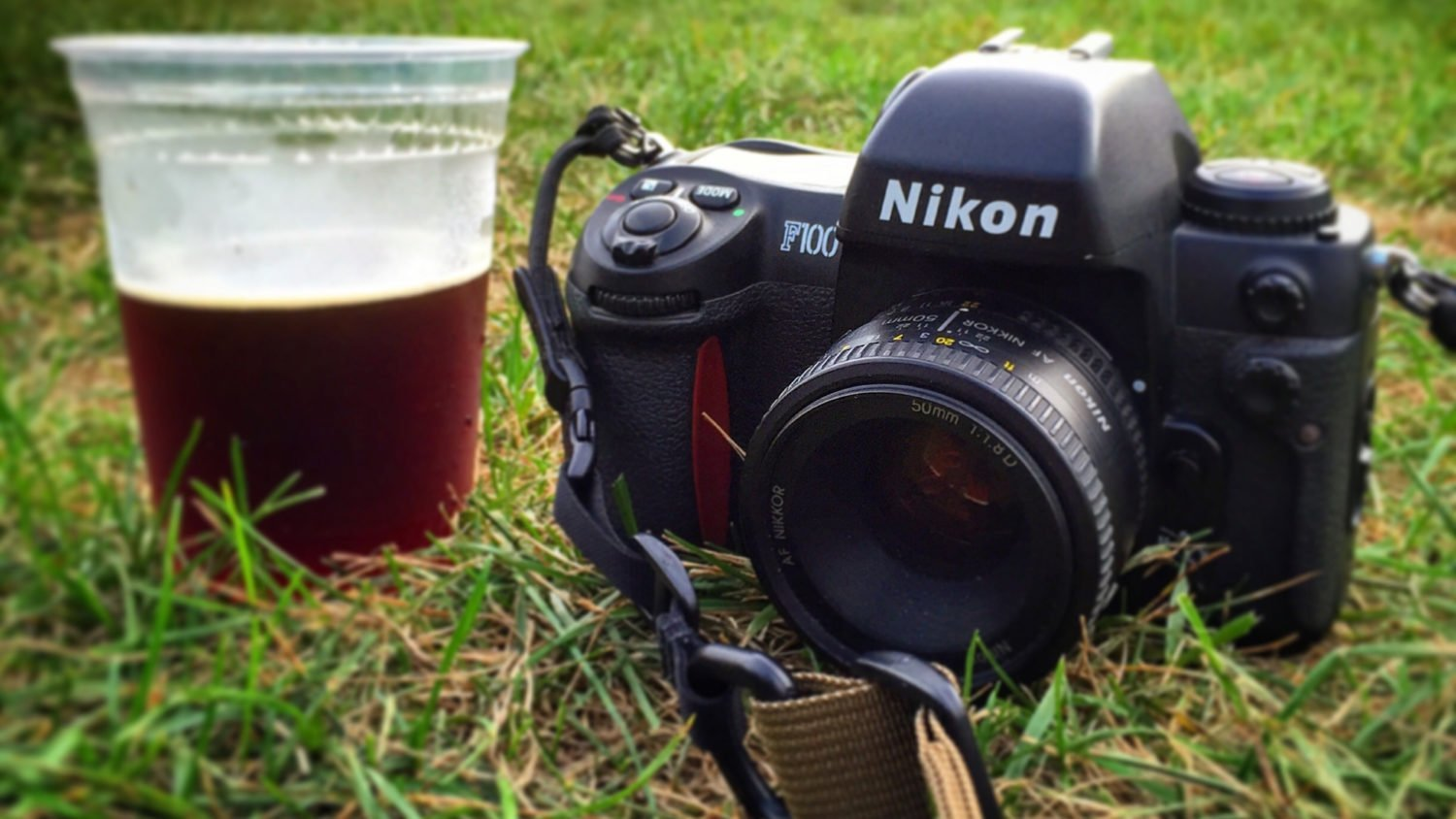 The Nikon F100 I used for this camera review